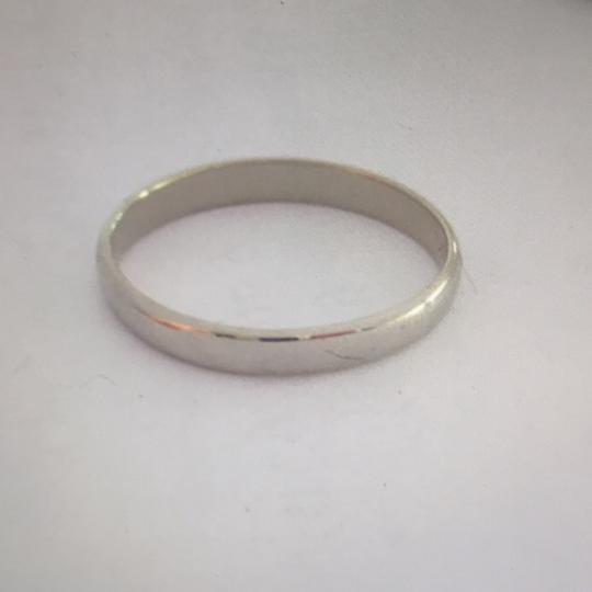 unknown 18Kt White Gold Band, stamped 18K Image 3