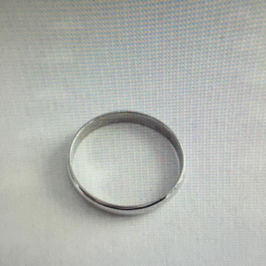 unknown 18Kt White Gold Band, stamped 18K Image 4
