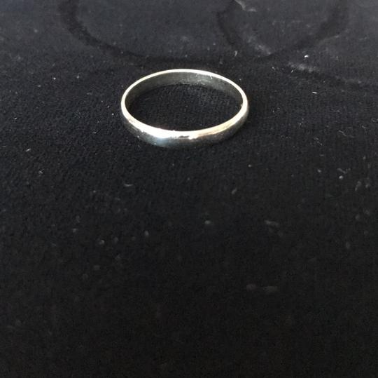 unknown 18Kt White Gold Band, stamped 18K Image 8