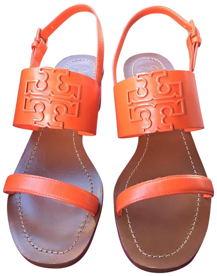15c658759887 Tory Burch Orange Melinda Sandals. Size  US 8.5 Regular (M ...