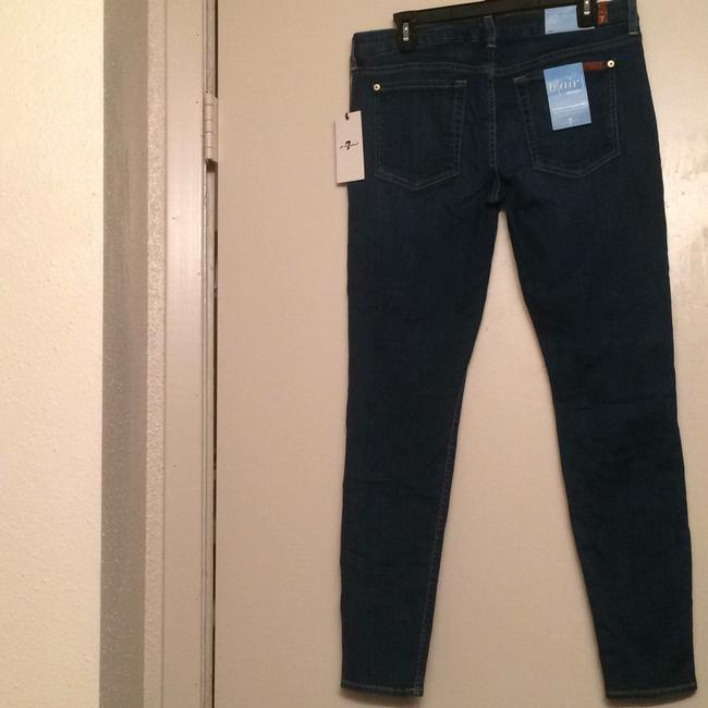 7 For All Mankind Skinny Jeans-Distressed Image 1