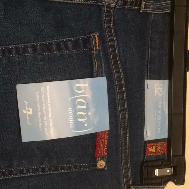 7 For All Mankind Skinny Jeans-Distressed Image 2