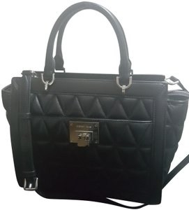 MICHAEL Michael Kors Quilted Satchel in Black