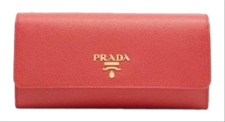 d2f2985ccea0cd Prada Saffiano Leather Wallet On Chain Cross Body Bag - Tradesy