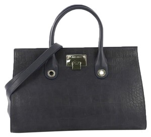Jimmy Choo Leather Tote in blue