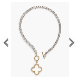 Talbots Talbots convertible clover necklace