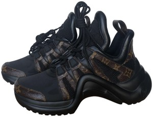 Louis Vuitton Trainer Sneaker Archlight Runway Brown Athletic