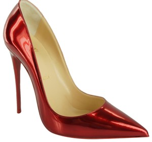 Christian Louboutin 120 Mm Red Pumps