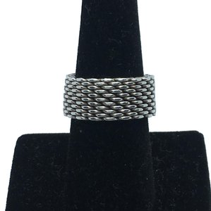 Tiffany & Co. Tiffany and Co Mesh ring