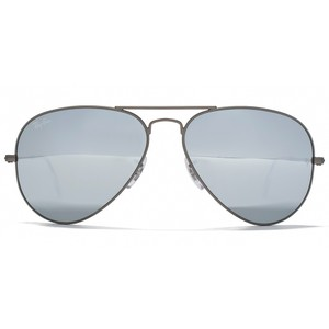 bbb1239f3c Ray-Ban NEW Ray Ban 3025 55mm Silver Mirrored Aviator Sunglasses