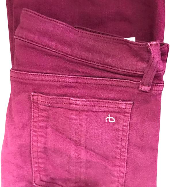 Item - Dist Plum Coated Cropped Flare Leg Jeans Size 10 (M, 31)