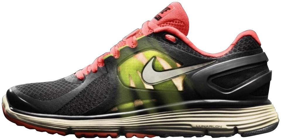 Nike Lunareclipse 2 Walking Running Black Orange Yellow Cream  Dark Gray  Colors Sneakers 14d01c30669ee