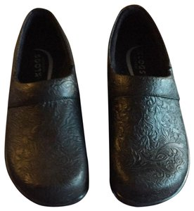 Klogs USA New Leather Comfortable Estate Blue Mules