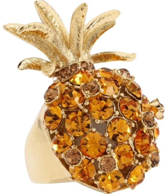 Item - Yellow Pineapple Grove Cocktail Ring