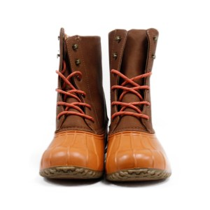 London Fog CORAL/NATURAL Boots