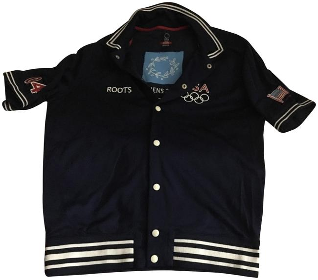Item - Navy Blue Official Apparel Of Olympic Usa Team 2004 In Athens Activewear Sportswear Size 6 (S, 28)