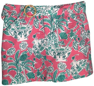 Lilly Pulitzer Skirt pink green white