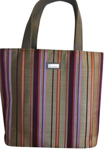 Jim Thompson Silk Leather Tote in multi