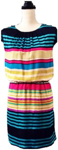 Guess short dress Multi-Color Stripes on Tradesy