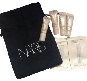 Nars Cosmetics 7pcs Nars Eye Cream Night Treatment Brightening Concentrate & Pouch
