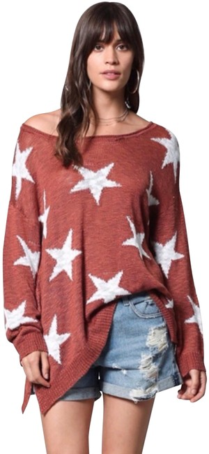 BY TOGETHER Stars Brick Sweater BY TOGETHER Stars Brick Sweater Image 1