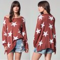 BY TOGETHER Stars Brick Sweater BY TOGETHER Stars Brick Sweater Image 2