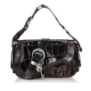 Dior Embossed Patent Leather Gaucho