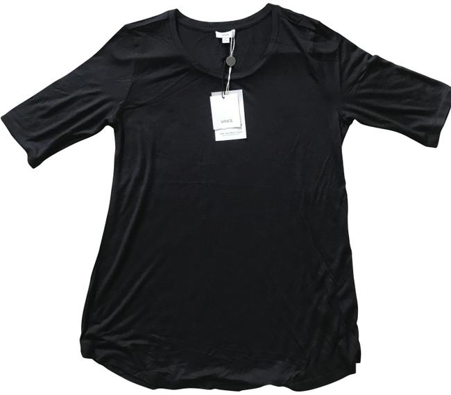 Item - Black Jersey Stretch - Tee Shirt Size 4 (S)