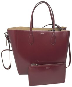 Rochas Tote in red