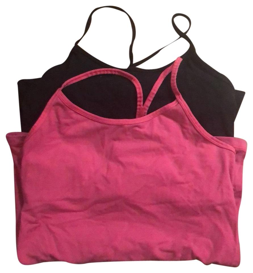 369bcd1825297 Nike Black and Pink Dri-fit Power Y Tank Activewear Top Size 8 (M ...