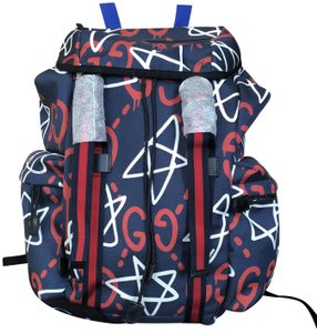 ced8b760341d Blue Gucci Backpacks - Over 70% off at Tradesy