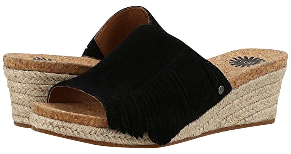 1401e1ce371d UGG Australia New With Tags New In Box Black Wedges Image 0 ...