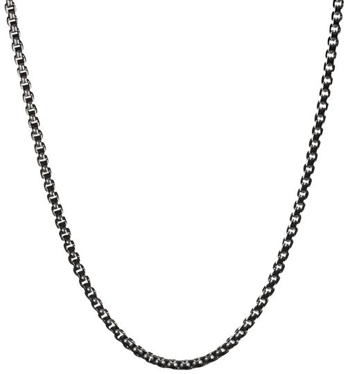 Preload https://img-static.tradesy.com/item/24712734/david-yurman-silver-small-box-chain-27mm-titanium-and-sterling-necklace-0-1-540-540.jpg