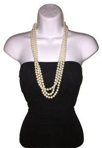 Mossimo Supply Co. Faux Pearl Necklace 3 Strands