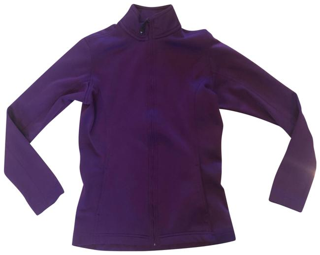 Item - Purple Zipup Athletic Like New Activewear Outerwear Size 2 (XS)
