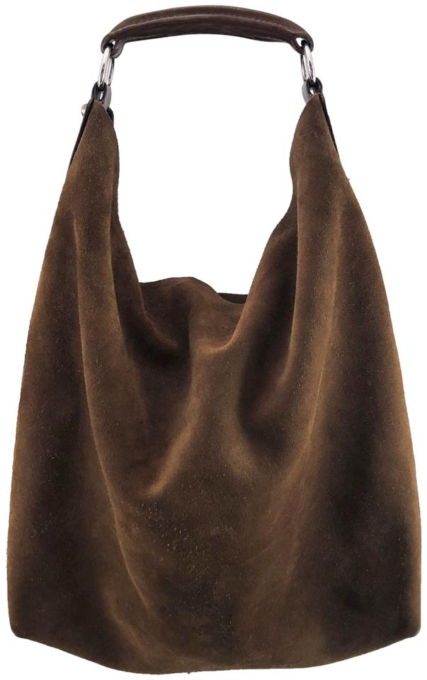 f8c35c88b9 Balenciaga Large Slouch Brown Suede Leather Hobo Bag - Tradesy