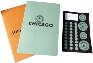 Louis Vuitton New Chicago City Guide and Stickers Set