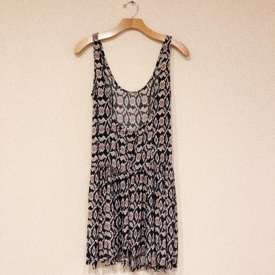 bbf0df9ada15 Brandy Melville Multicolor Ikat Dropped Waist Swing Short Casual Dress Size  OS (one size) - Tradesy