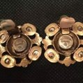 Chanel vintage Chanel Byzantine Gripoux Earrings Image 1