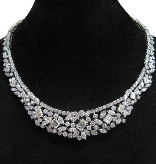 Preload https://img-static.tradesy.com/item/24715382/f-natural-18kt-multi-shape-diamond-tennis-graduated-riveria-necklace-0-1-540-540.jpg