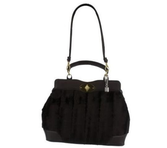 Preload https://img-static.tradesy.com/item/24715892/park-avenue-faux-fur-satchel-w-patent-trim-black-shoulder-bag-0-0-540-540.jpg