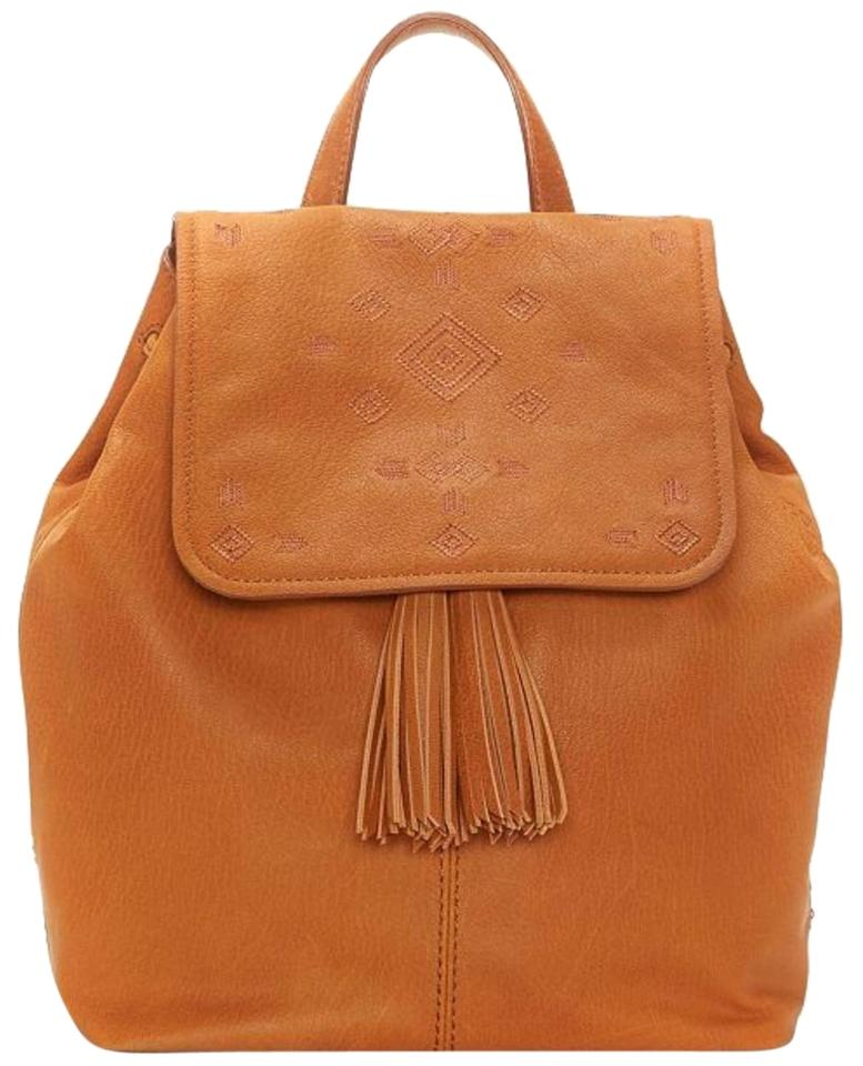 Lucky Brand Plum Leather Backpack Brown Baguette - Tradesy c33bf91bab552