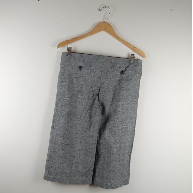 Express Capris Black and Gray Image 3