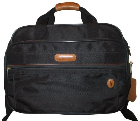 Preload https://img-static.tradesy.com/item/24716068/hartmann-brookfield-by-carry-on-black-and-tan-canvas-with-leather-trim-weekendtravel-bag-0-1-540-540.jpg