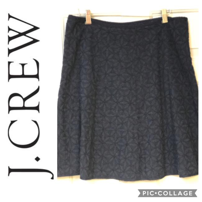 Preload https://img-static.tradesy.com/item/24716152/jcrew-blue-eyelet-floral-skirt-size-10-m-31-0-0-650-650.jpg