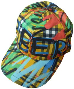 Burberry Burberry Fonts Graffiti Logo Baseball Cap
