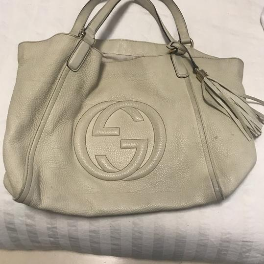 Gucci Satchel in cream/ivory Image 4