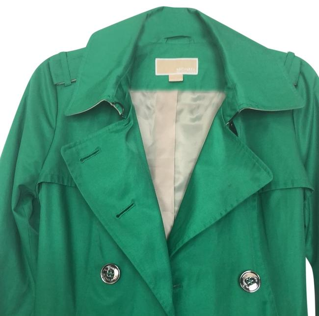 Preload https://img-static.tradesy.com/item/24716479/michael-michael-kors-green-mid-length-trench-jacket-size-6-s-0-1-650-650.jpg
