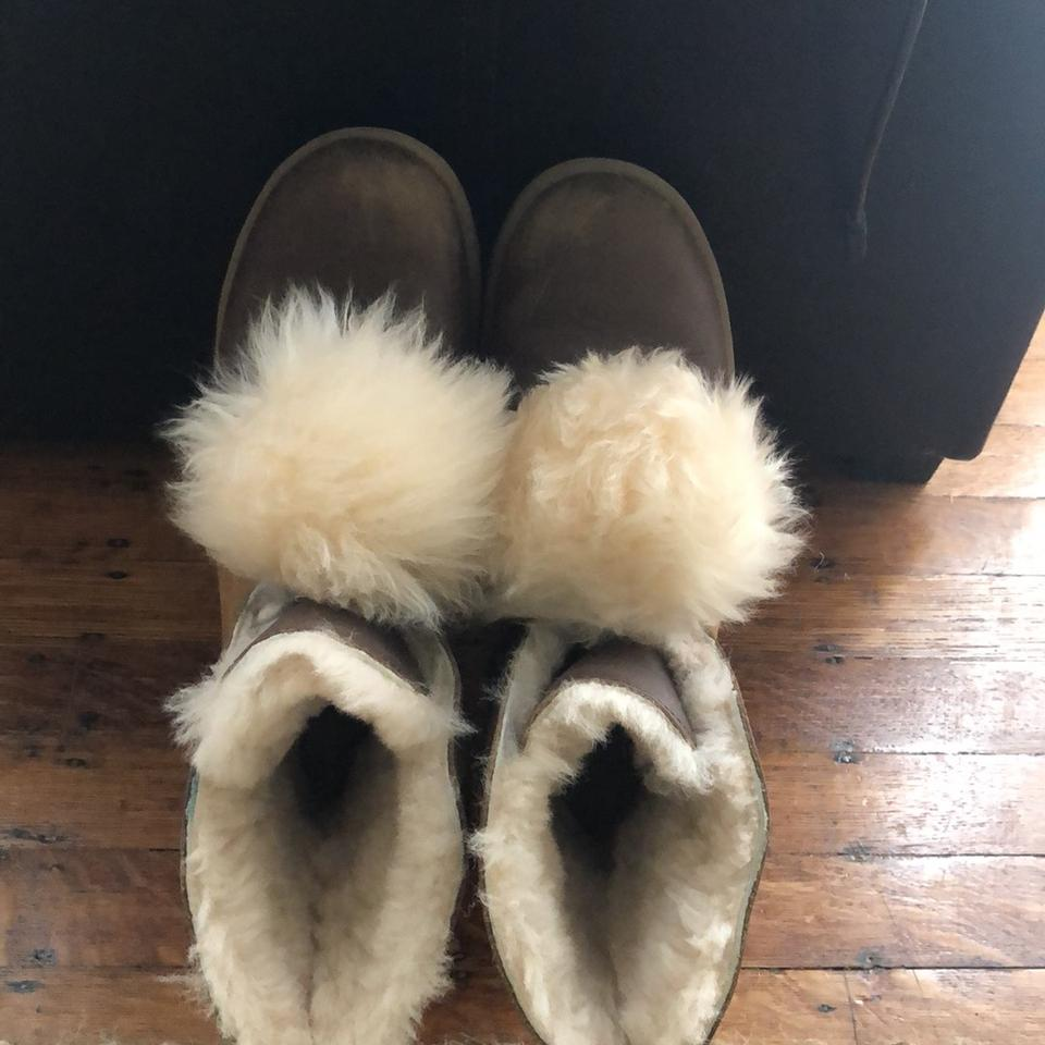 af0d1655b4b UGG Australia Tan/Brown with Ivory Interior Faux Fur Lined Arctic Winter  Boots/Booties Size US 9 Regular (M, B) 73% off retail