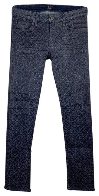 Item - Coated Racer Skinny Jeans Size 8 (M, 29, 30)